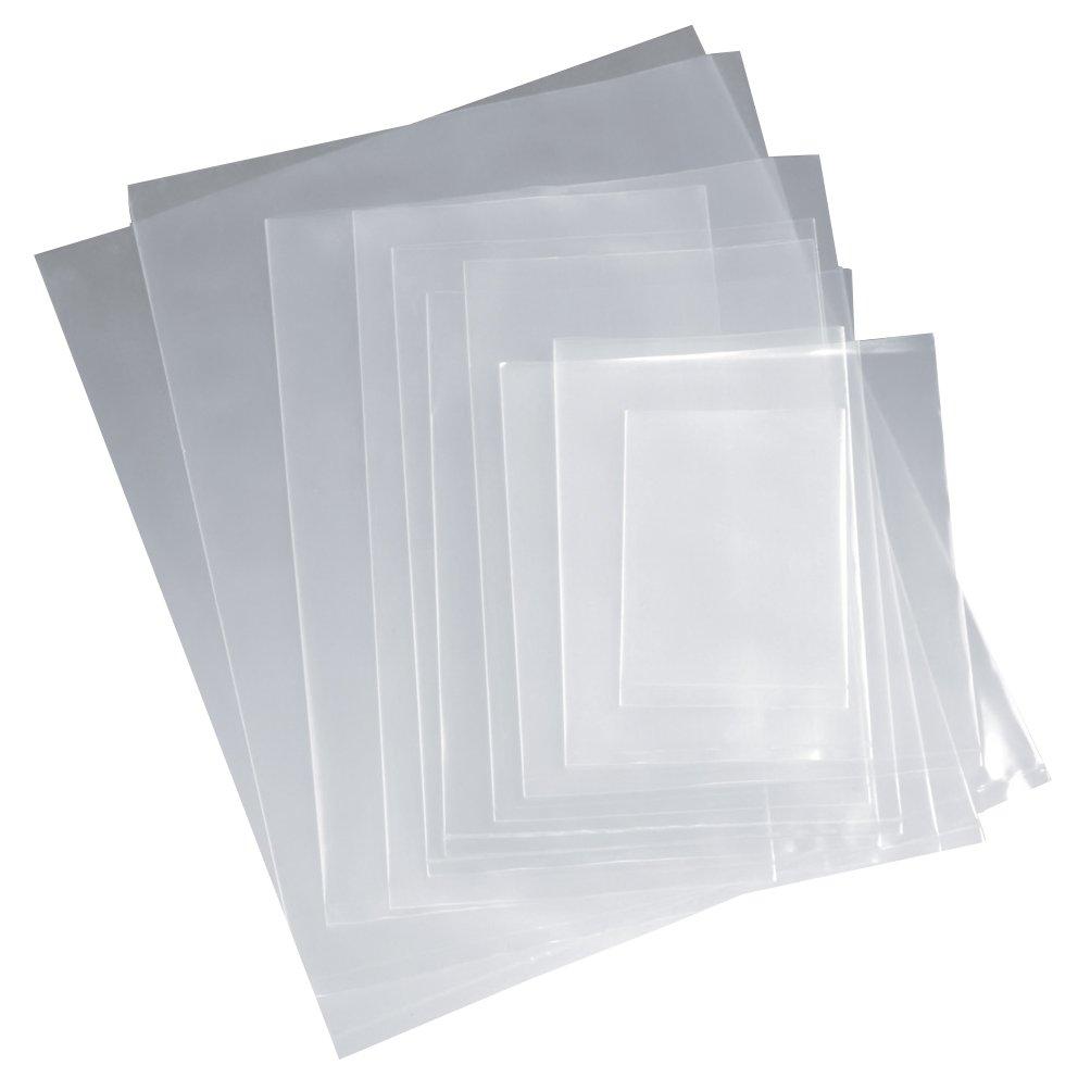 Muovipussi läpinäkyvä (kilopussi / sivusaumapussi)