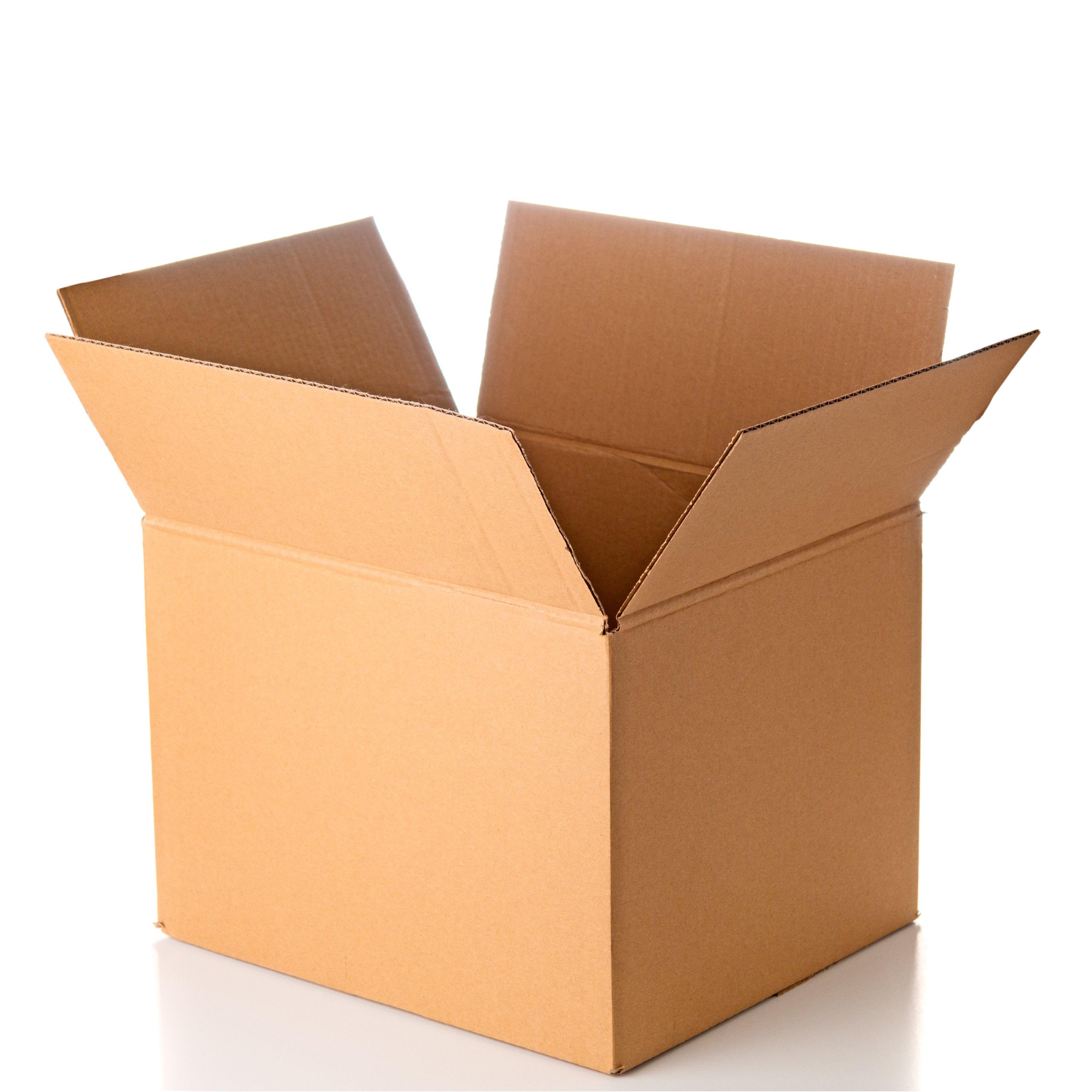 Kokoontaittuva pahvilaatikko pikapohjalla kasattuna