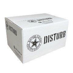 Disturb brändin pahvilaatikko