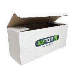 Haytech suljettava pahvilaatikko omilla mitoilla