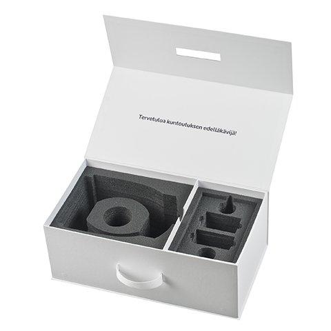 Peili vision laatikko vaahtosisäosalla