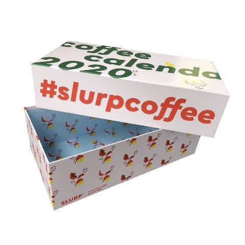 Slurp coffee kannellinen tuotepakkaus