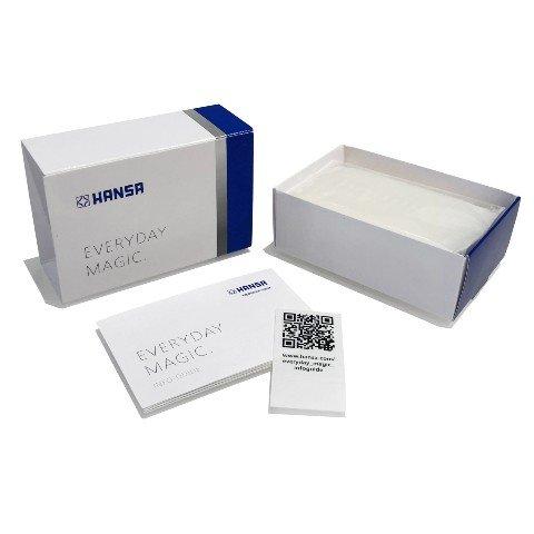 hansa tuotepakkaus ja pakkauksen sisältö