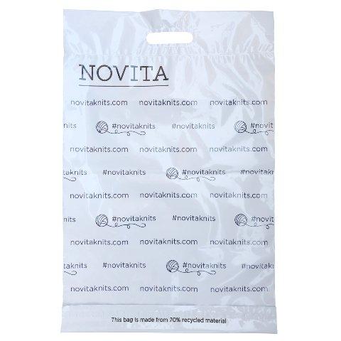 Novita lähetyspussi kierrätysmateriaali